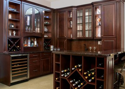 Well-Stocked Wine Cellar