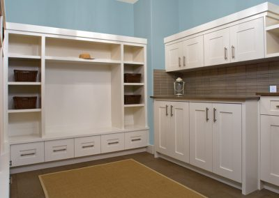 Spacious Mudroom